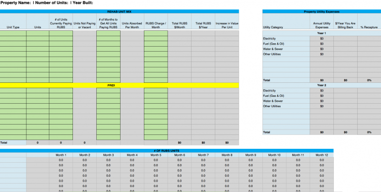 Detailed Deal Analyzer - RUBS