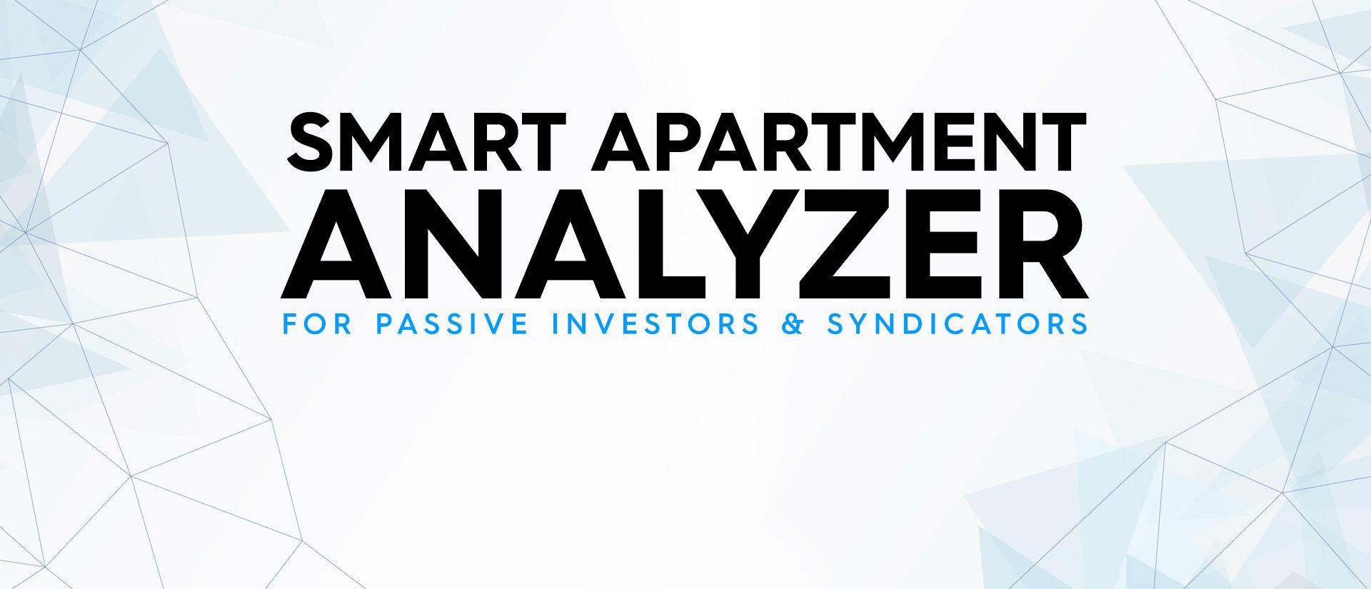 Smart Apartment Analyzer - Think Multifamily