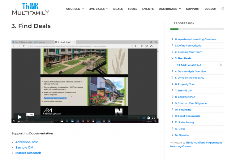 Multifamily Investing Courses